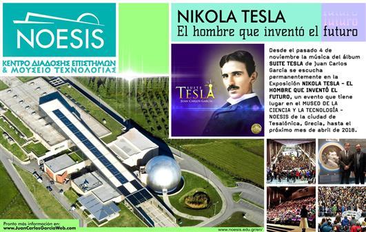 Exposición: NIKOLA TESLA - EL HOMBRE QUE INVENTÓ EL FUTURO