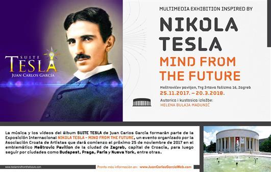 Exposición: NIKOLA TESLA - MIND FROM THE FUTURE